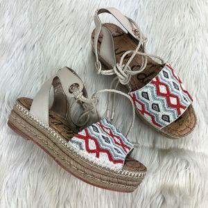 Sam Edelman Neera Espadrille Platform Sandals